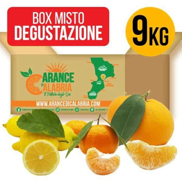 box degustazione agrumi calabresi